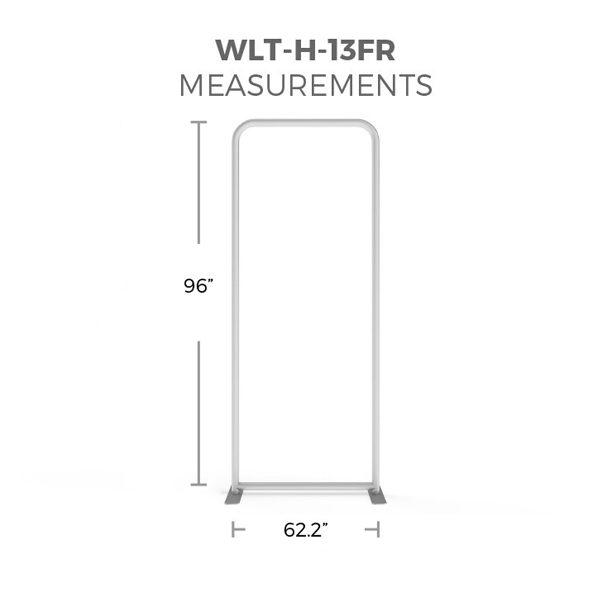 WaveLight® LED Backlit Display 3ft Hardware Only