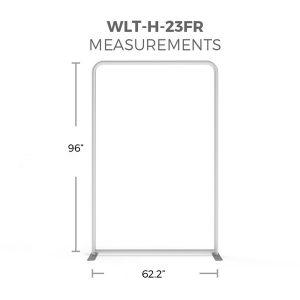 WaveLight® LED Backlit Display 5ft Hardware Only