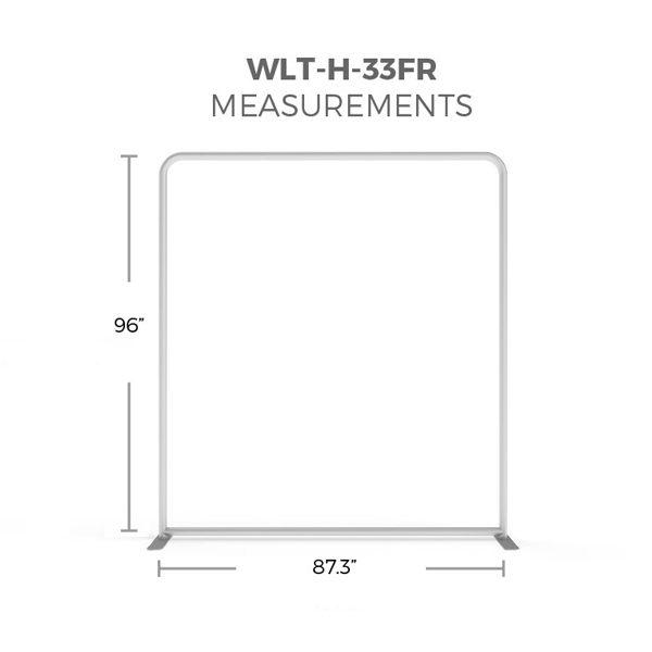 WaveLight® LED Backlit Display 8ft Hardware Only