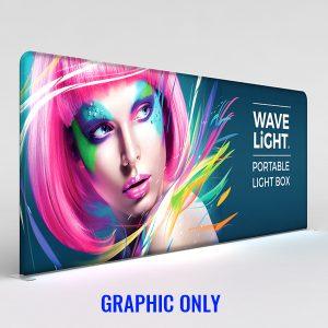 WaveLight® LED Backlit Display 18.5ft Graphic Only