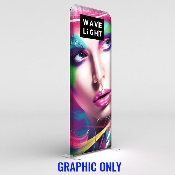 WaveLight® LED Backlit 3ft Graphic