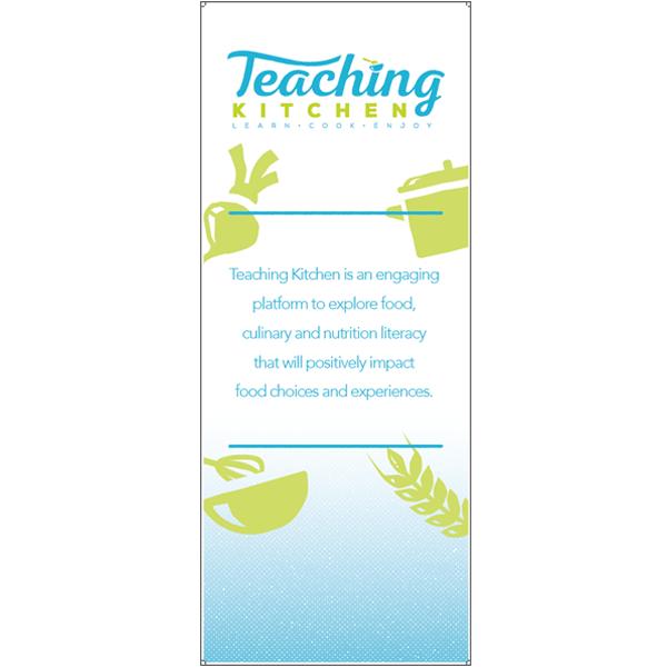 Teaching Kitchen Sales Banner