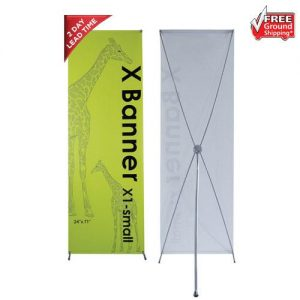 X1 Banner Stand - Small