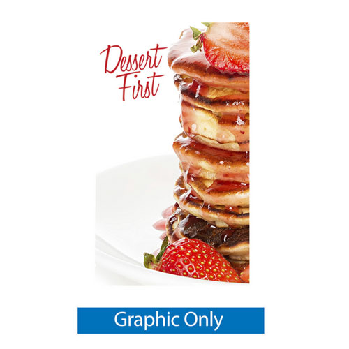 X3 Banner Stand - Large - Graphic Only
