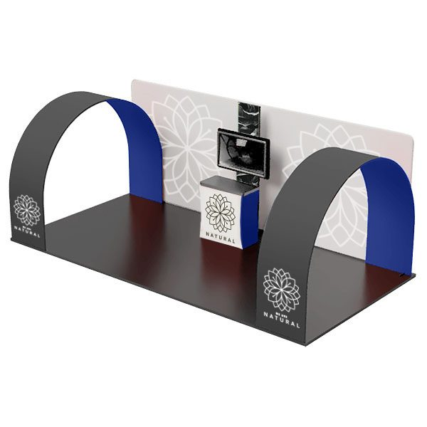 Fiji 20' Waveline Booth Kit