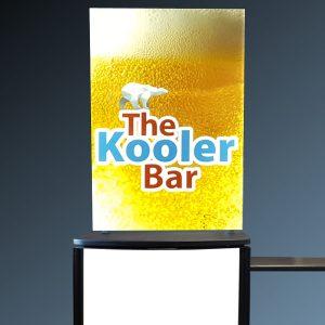 Portable Bar Printed Panels