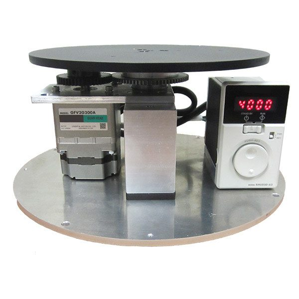 VS-BLDC Motorized Turntable With Variable Speed