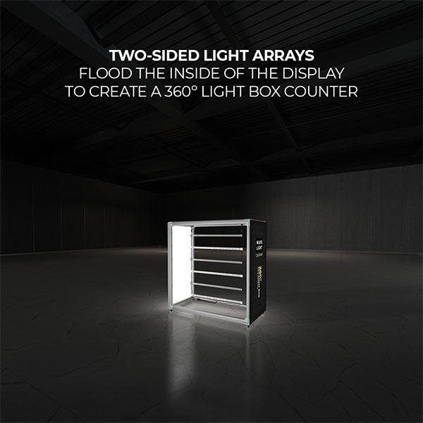 Wavelight Casonara SEG Light Counter Display - 100M