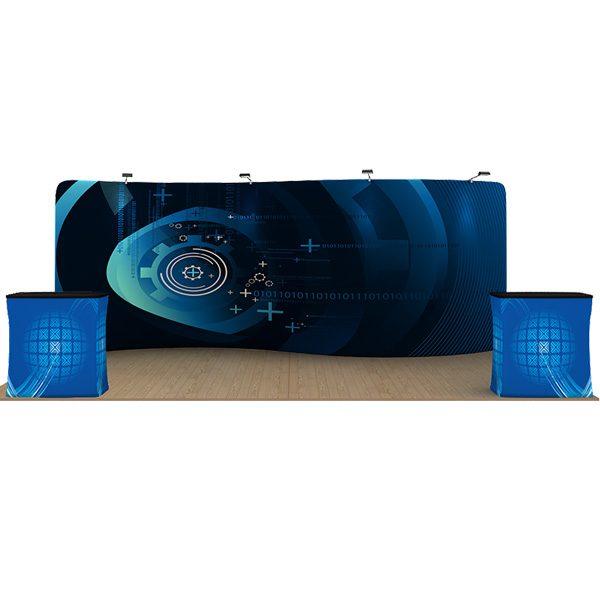 20ft serpentine waveline displays kit
