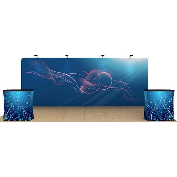 20ft straight waveline displays kit