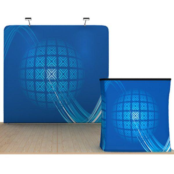 8ft straight waveline displays kit