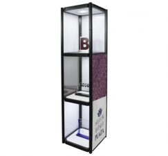 3-shelves-twist-portable-display-cabinet-with-lights-merchandiser-display-side-view-with-graphics