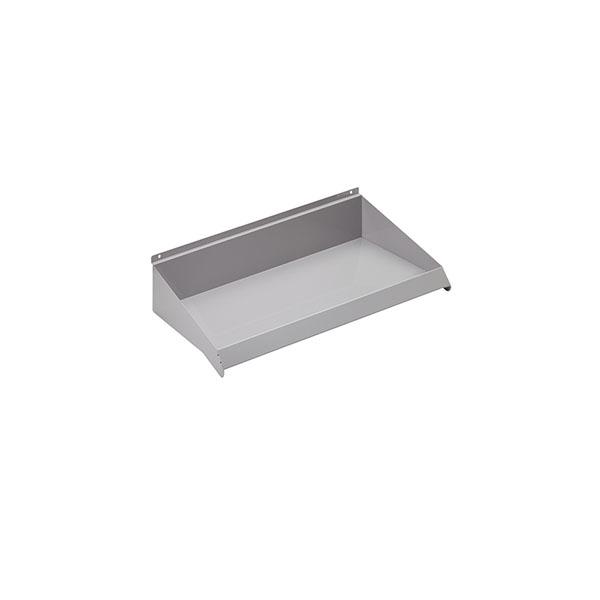 """24"""" x 10"""" Slatwall Shelves - Gray Color"""