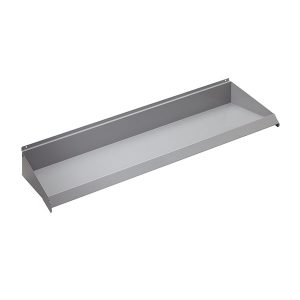 "48"" x 10"" Slatwall Shelves - Gray Color"