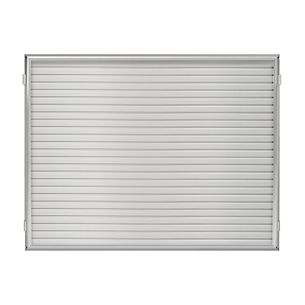 "48""W x 31""H Hinged Framed Slat Wall Panel"