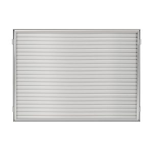 "48""W x 36""H Hinged Framed Slat Wall Panel"