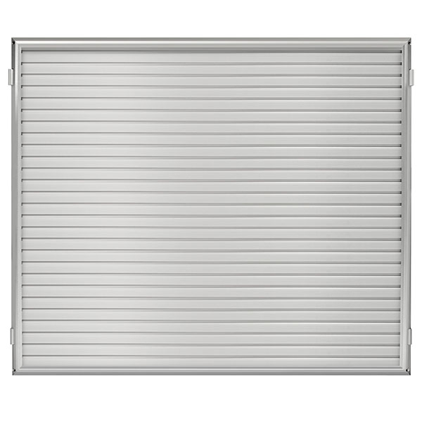 "48""W x 48""H Hinged Framed Slat Wall Panel"