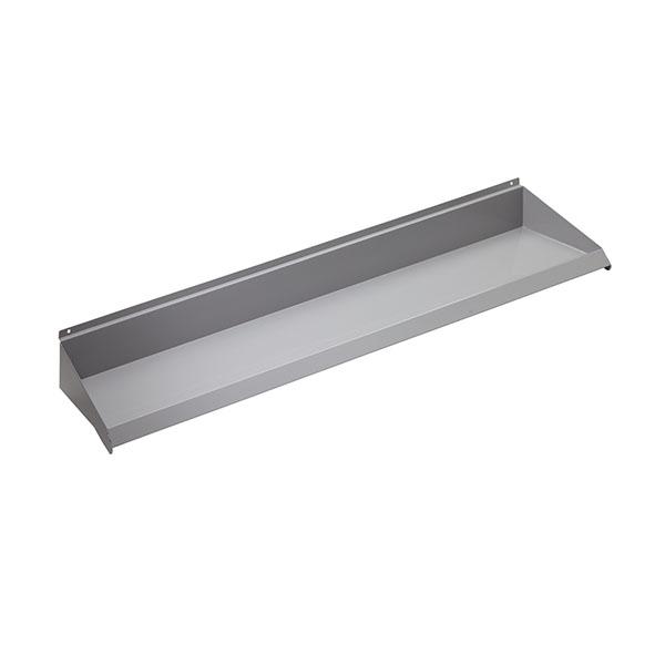 """48"""" x 8"""" Slatwall Shelves - Gray Color"""