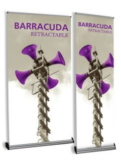 Barracuda Retractable Banner Stands