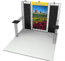 EZ-6 Belmont Kit for 10x10 Booths