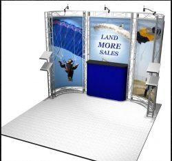 Bodega EZ-6 Truss Kit for 10x10 Booths
