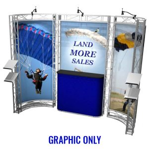 Bodega EZ-6 Truss 10x10 Booth Graphic Only