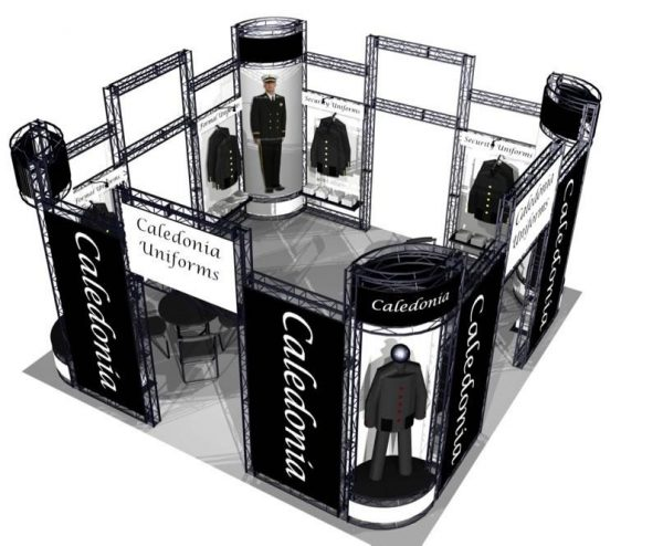 Eureka EZ-6 20′ x 20′ Exhibit Booth Truss Kit