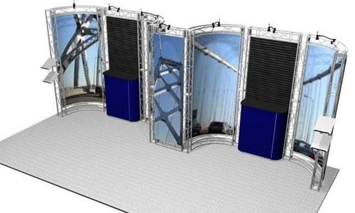 Sonoma EZ-6 Truss Kit for 10x20 Booths
