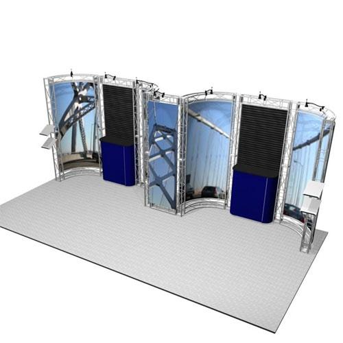 Sonoma EZ-6 Truss Kit for 10x20 Booths