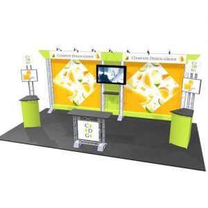 EZ6 Monrovia 10 x 20 Truss Display Kit
