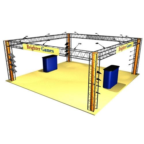 EZ-12 20x20 Crystal Exhibit Truss System