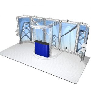Marin EZ-6 10x20 Truss Booth Kit