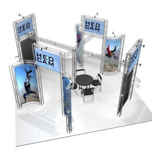 Franciscan 20′ x 20′ Trade Show Exhibit Truss Kit