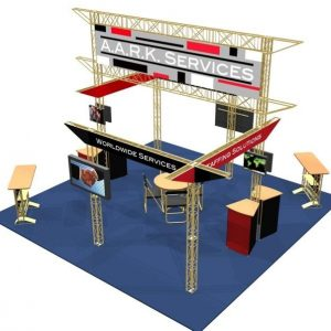 Covina EZ-6 20′ x 20′ Exhibit Display Truss Kit