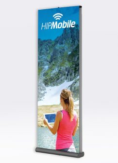 mercury-retractable-banner-stand-front-view-product