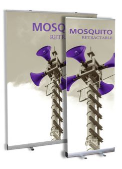 Mosquito Rectractable Banner Stand