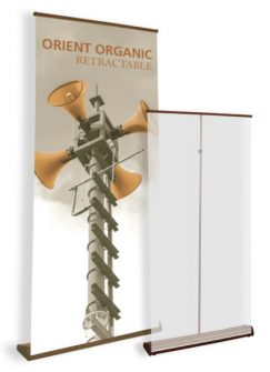 Orient Organic Retractable Banner Stand