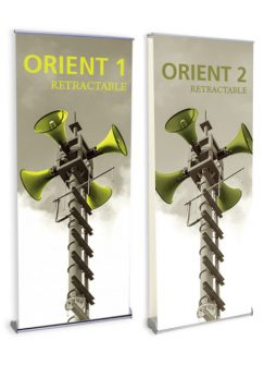 Orient Retractable Banner Stands