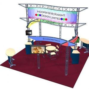 Palisades EZ-6 20′x20′ Booth Truss Kit