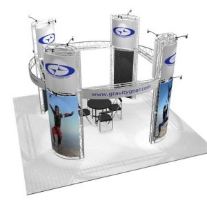 Presidio EZ-6 20′ x 20′ Trade Show Booth Truss Kit