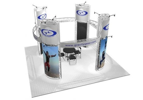 Presidio EZ-6 20′ x 20′ Trade Show Booth Truss Kit