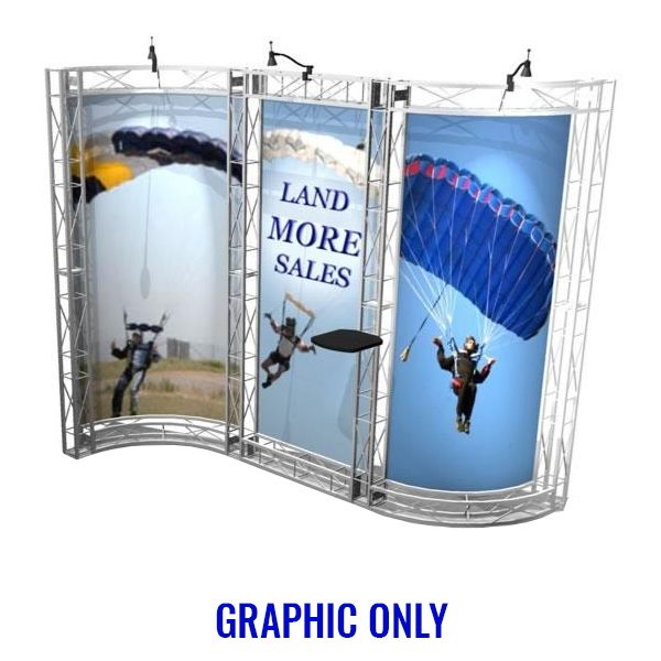 Sausalito EZ-6 10x10 Booth Graphic Only