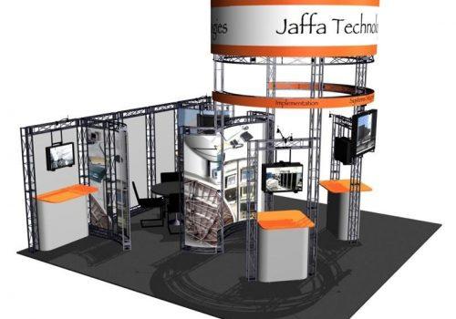 Sierra EZ-6 20′ x 20′ Trade Show Booth Truss Kit