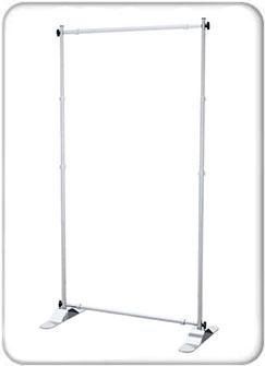 Standard Adjustable Banner Stands - Hardware Only