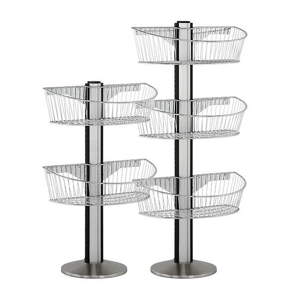 Wire Basket End Cap Display Kits