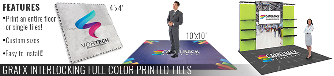 GraFx Interlocking Full Color Printed Tiles