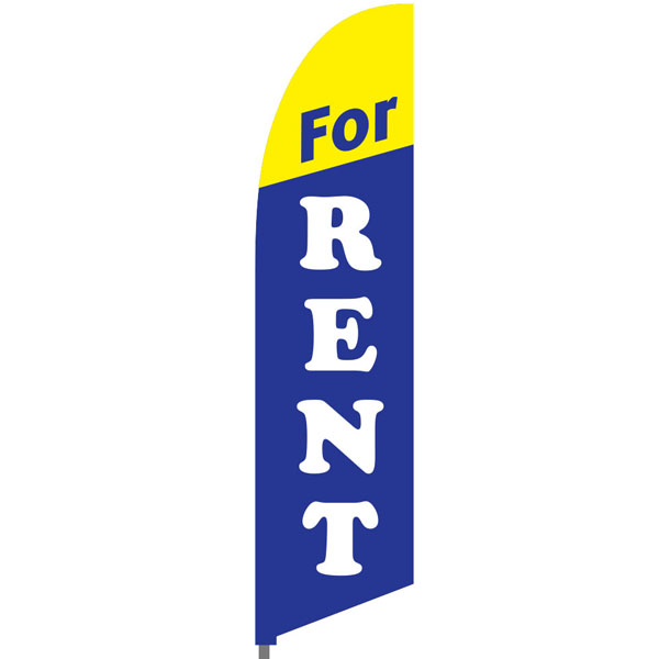 Bowflag® Stock Design For Rent Feather Flag