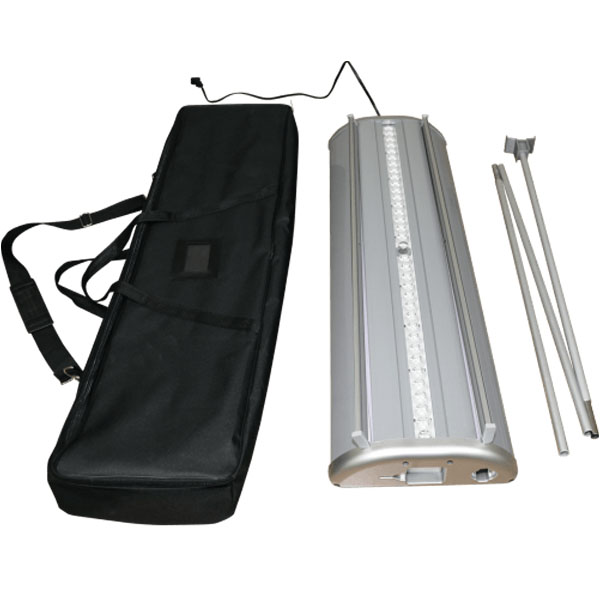 Illumistand Double Sided Light Up Retractable Banner Case