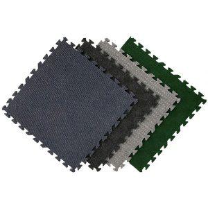 Designer Carpet Interlocking Tiles Indoor+Outdoor