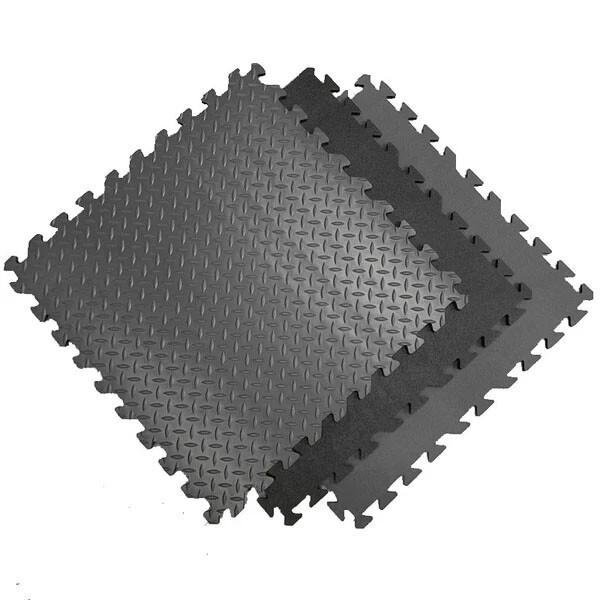Designer Flex Textured Vinyl Interlocking Tiles